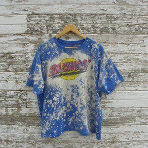 No. 540 Distressed Bazinga T-Shirt Big Bang Theory